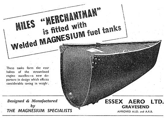 Essex Aero Magnesium Specialists - Magnesium Components