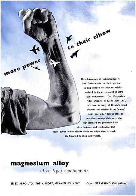Essex Aero Magnesium Alloy Ultra Light Components