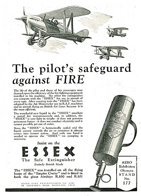 Insist On Essex - The Safe Extinguisher