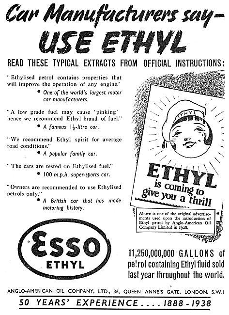 Esso Ethyl Spirit