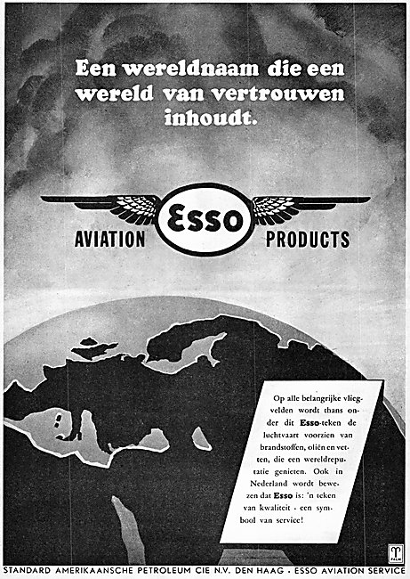 Esso Aviation Fuels & Lubricants