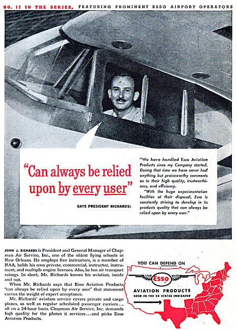 Esso Aviation Products