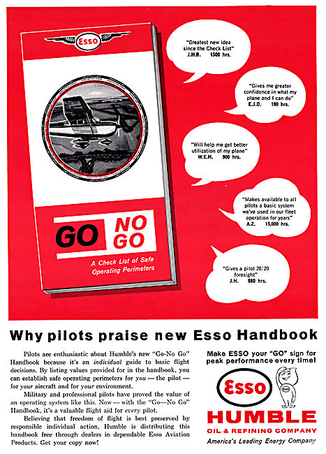 Esso Aviation Fuels & Oils - Humble Oil & Refining Company