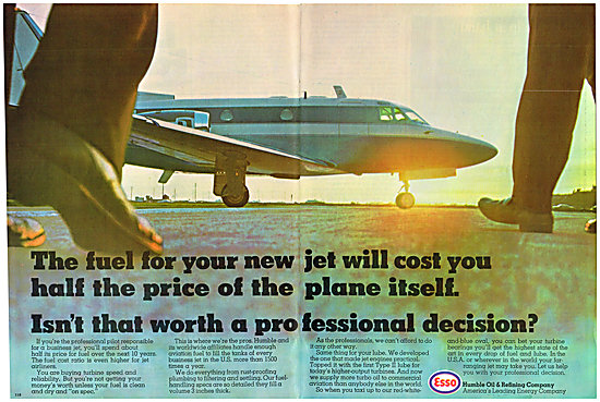 Esso Aviation Fuels & Lubricants - Humble Oil & Refining Co