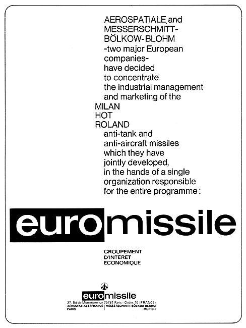 Euro Missile Milan Hot Roland