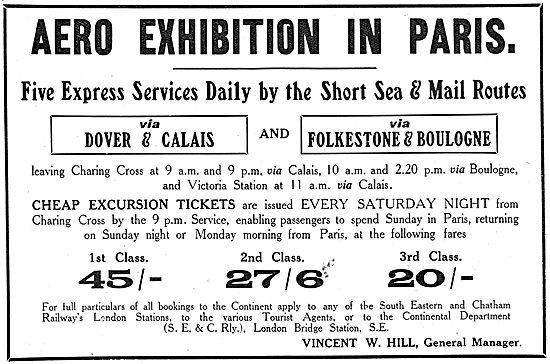 Aero Exhibition Paris 1910