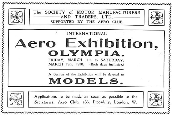 See The Models Section At Aero & Motor Boat Exhibition Olympia
