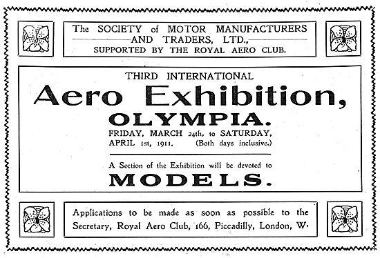 International Aero Exhibition Olympia - Model Display Area