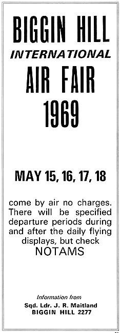 Biggin Hill International Air Fair 1969