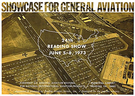 Reading General Aviation Show. Pz. June 1973