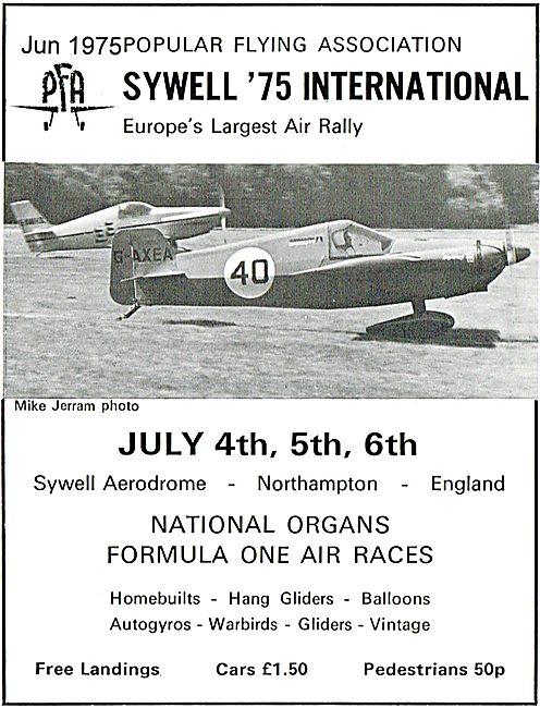 PFA Rally Sywell 1975