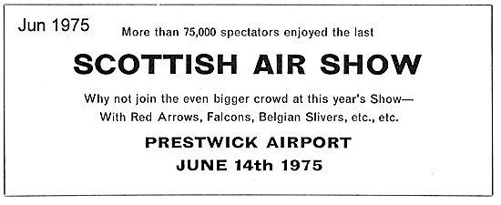 Scottish Air Show Prestwick Jun 14th 1975