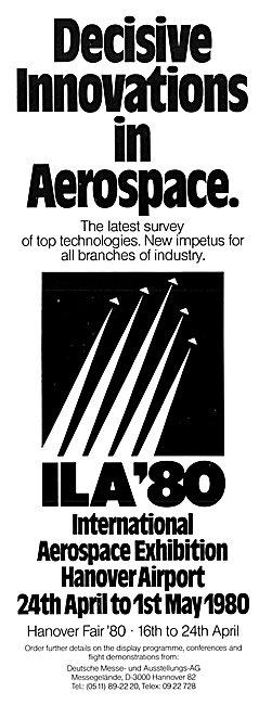 ILA 80 Aerospace Exhibition Hanover April-May 1980