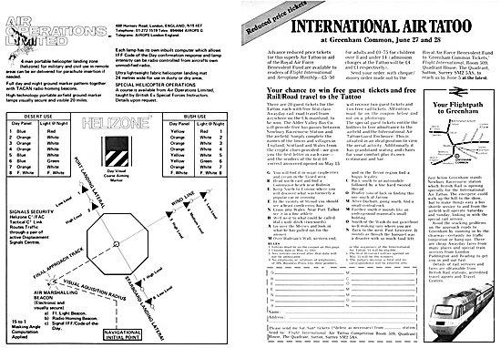 International Air Tatoo Greenham Common June 1981