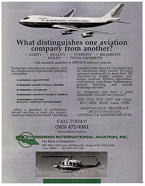 Evergreen International Aviation