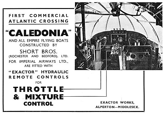 Exactor Hydraulic Remote Controls