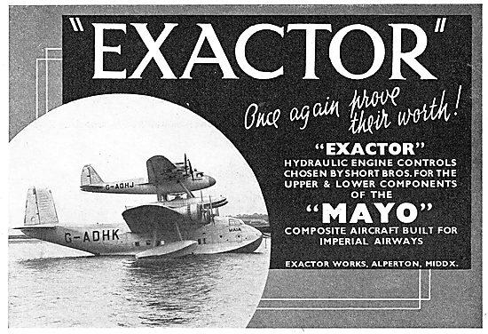 Exactor Hydraulic Engine Controls