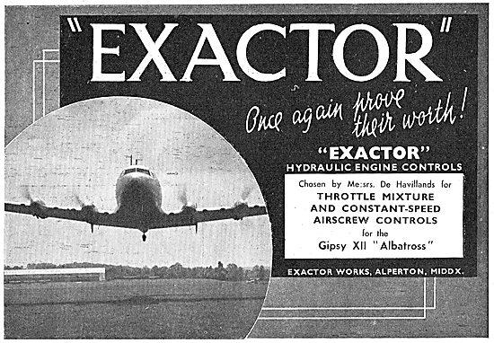 Exactor Mixture & Constant Speed Airscrew Controls