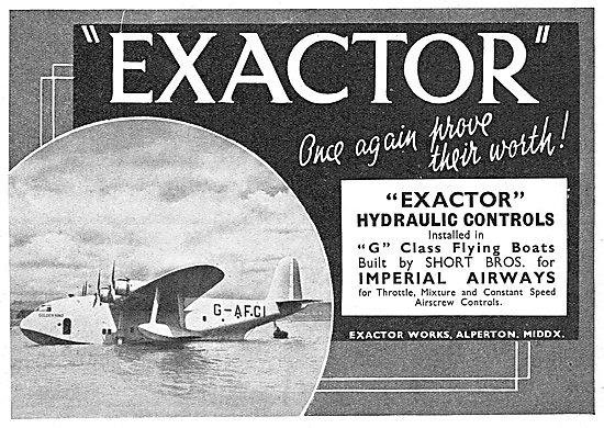 Exactor Hydraulic Controls