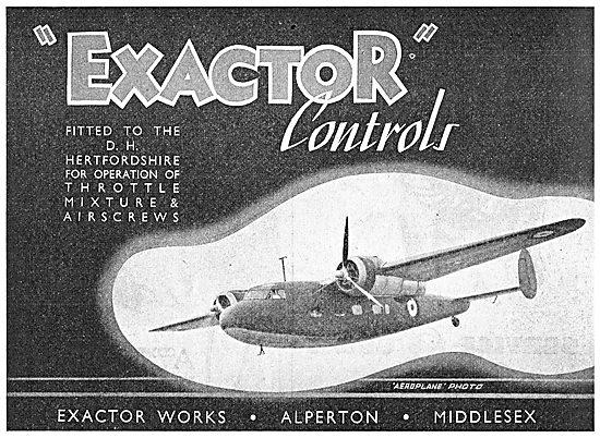 Exactor Controls. D.H. Hertfordshire