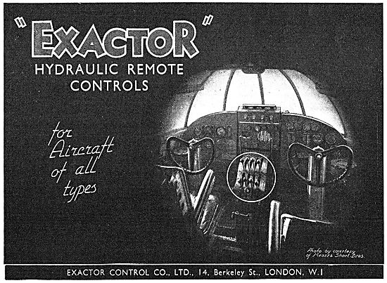 Exactor Hydraulic Remote Controls For Aircraft