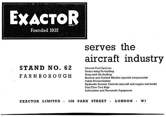 Exactor Aircraft Controls & Components