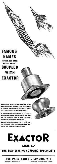 Exactor Self-Sealing Couplings