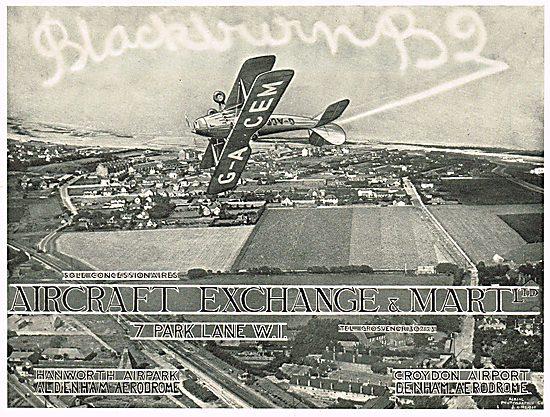 Aircraft Exchange & Mart - Croydon, Denham, Hanworth & Aldenham