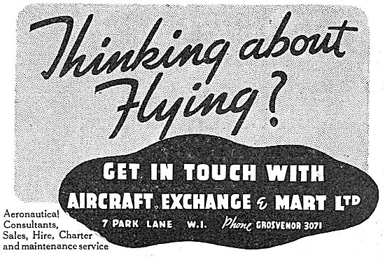 Aircraft Exchange & Mart - Flying Training