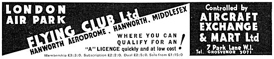 Aircraft Exchange & Mart Hanworth - Training & Sales
