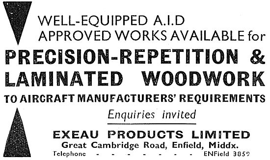 Exeau Products : AID Approved Woodworkers