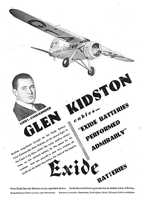 Exide Aircraft Battreies