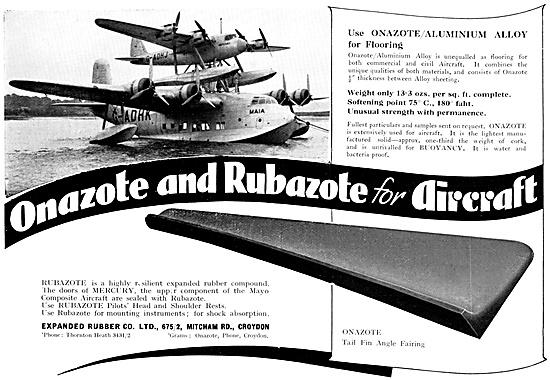Exapnded Rubber Co - Onazote & Rubazote