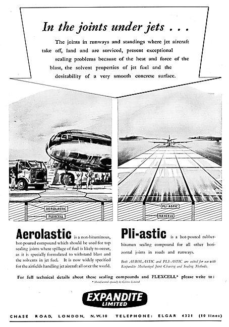Expandite Aerolastic & Pli-astic Sealing Compounds