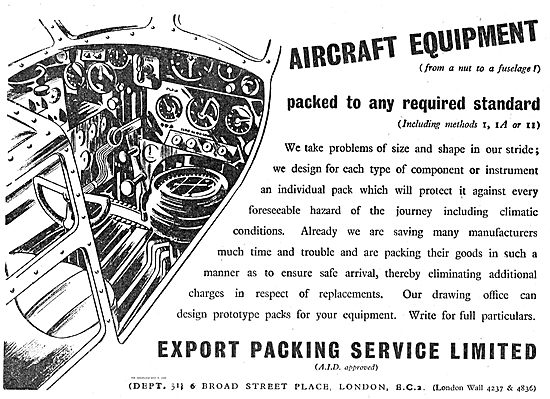 Export Packing Service For Aviation. From A  Nut To A Fuselage