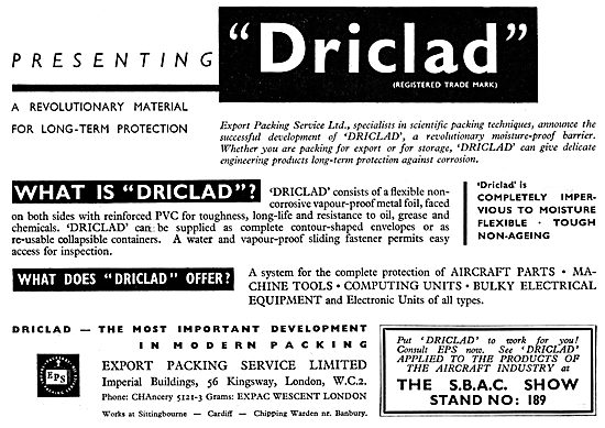 Export Packing Service DRICLAD
