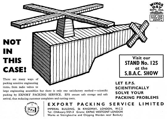 Export Packing Service 1959