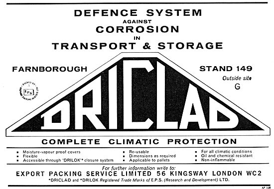 Export Packing Service - DRICLAD Climatic Protection
