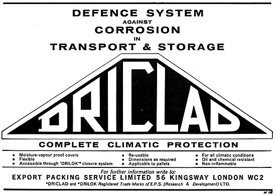 Export Packing Service - DRICLAD Component Protection