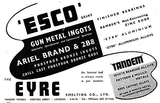Eyre Smelting Eyre Gun Metal Ingots