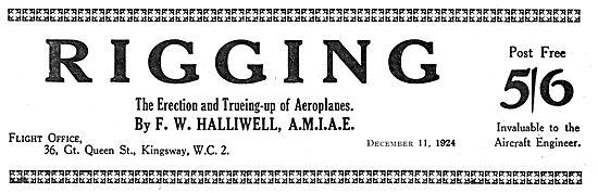 F.W.Halliwell - Rigging