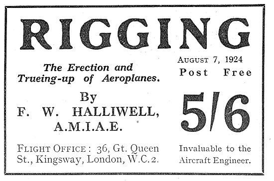 F W Halliwell - Rigging Book