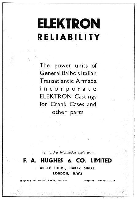 F.A.Hughes Elektron Castings 1933