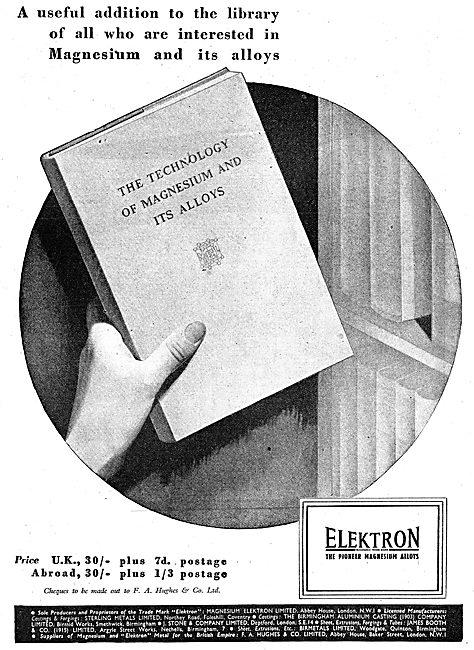 F.A.Hughes Elektron - Magnesium-Zirconium - Alloys