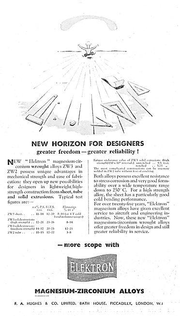 F. A. Hughes Elektron For Aircraft Constructors