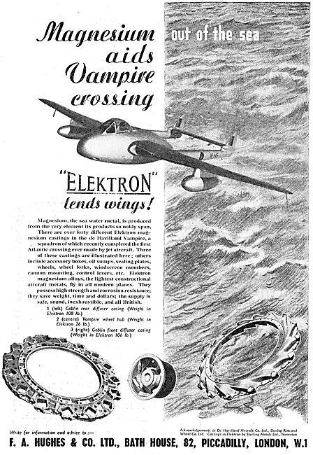 F.A.Hughes Elektron - Magnesium-Zirconium - Alloys 1949