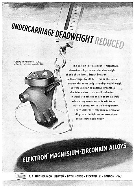 F A Hughes Elektron - Magnesium-Zirconium - Alloys