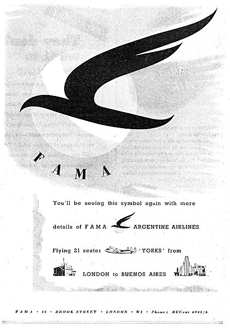 FAMA  Argentine Airlines
