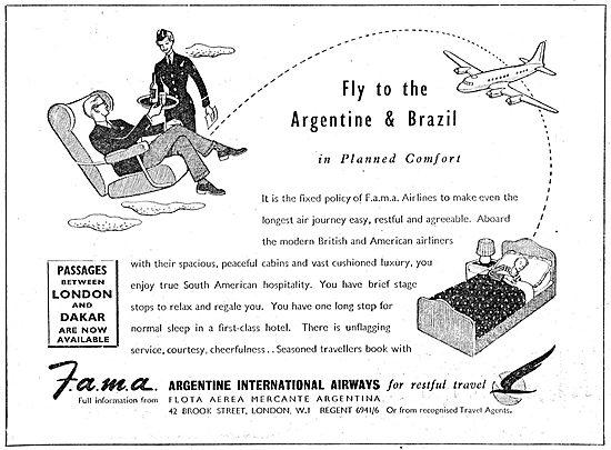 FAMA  Argentine International Airways