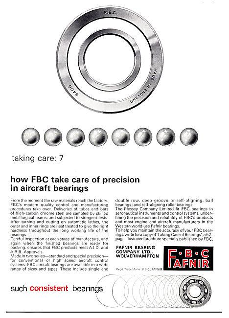 Fafnir Bearing Co: FBC: Bearings